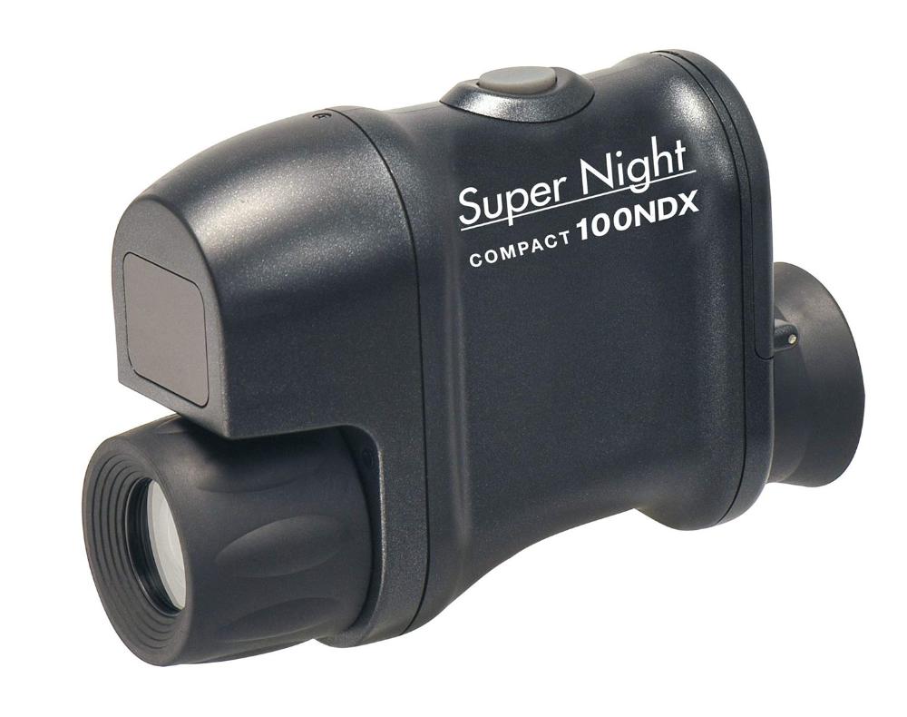 赤外線照射装置を内蔵!夜行性動物の観察から夜間の防犯警備活動まで!【新品】Kenko Tokina ケンコー・トキナー 暗視鏡 暗視スコープ スーパーナイトコンパクト 100NDX 2.5倍 20口径
