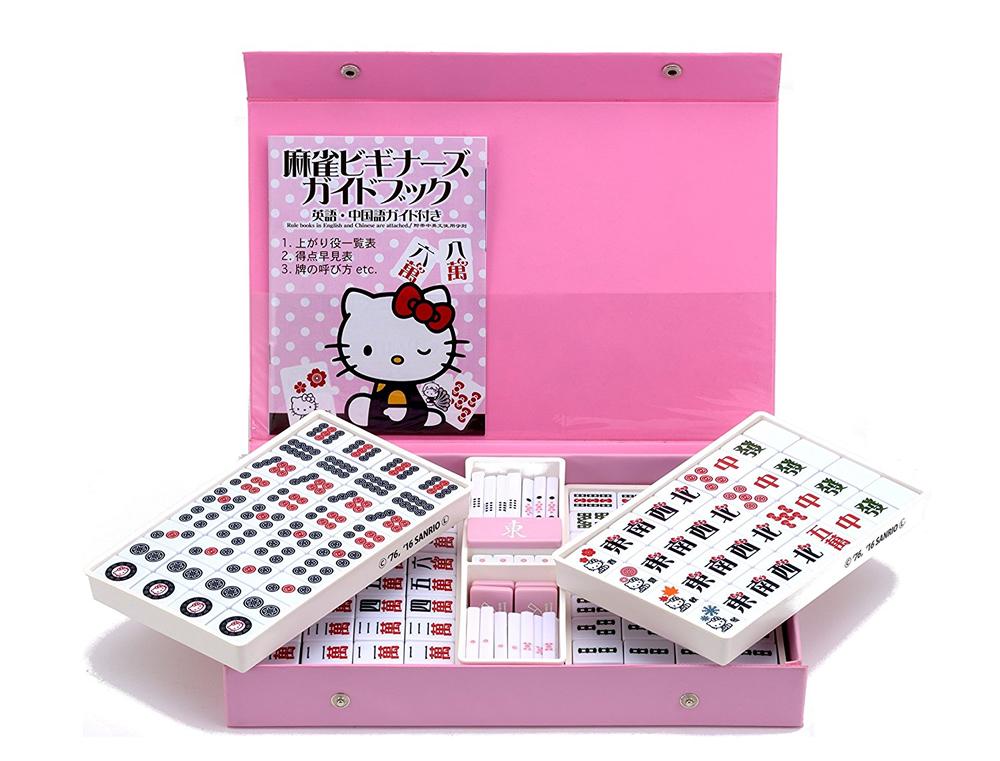 【新品】ハローキティ麻雀牌