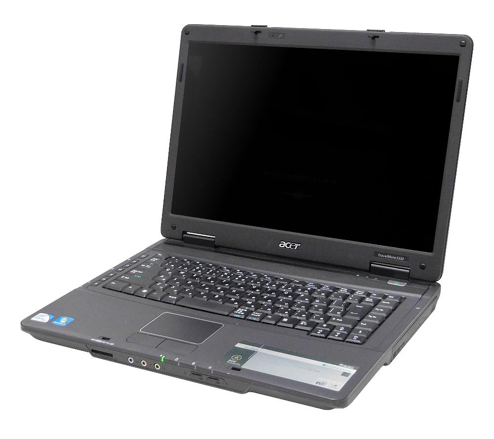 【中古】Acer エイサー A4ノート TravelMate トラベルメイト 5330-W721D CPU:Celeron 900 OS:Win7-Pro(32) メモリ:2GB HDD:129GB