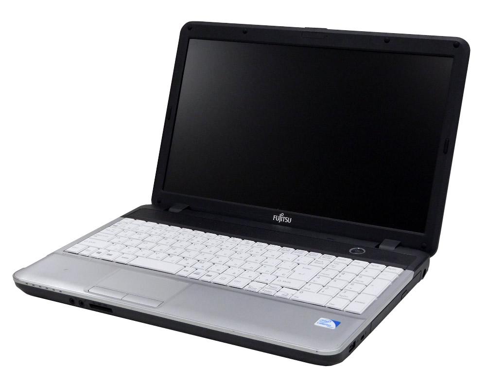 【中古】FUJITSU 富士通 バリューシリーズ A4ワイドスタンダード LIFEBOOK ライフブック A512/FX CPU:Celeron B730 OS:Win7-Pro(32) メモリ:2GB HDD:138+138GB
