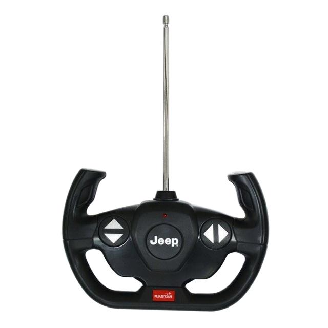 【新品】【送料無料!】RASTAR RC ラジコンカー JEEP ジープ Wrangler ラングラー JL Rubicon ルビコン 1/14スケール フルファンクション 【ブラック】
