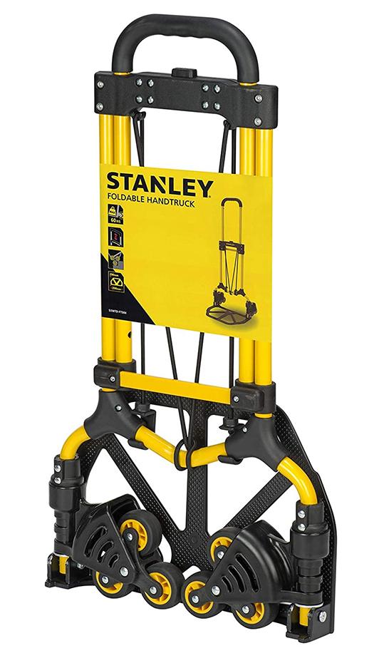 【新品】【送料無料!】STANLEY スタンレー 折り畳み式 段差対応 伸縮機能付 ハンドトラック キャリー/カート SXWTD-FT584