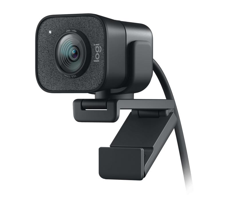 【新品】【送料無料!】Logicool ロジクール ストリーミングカメラ ウェブカメラ フルHD 1080P 60FPS AIオートフォーカス 自動露出補正 自動ブレ補正 グラファイト C980GR