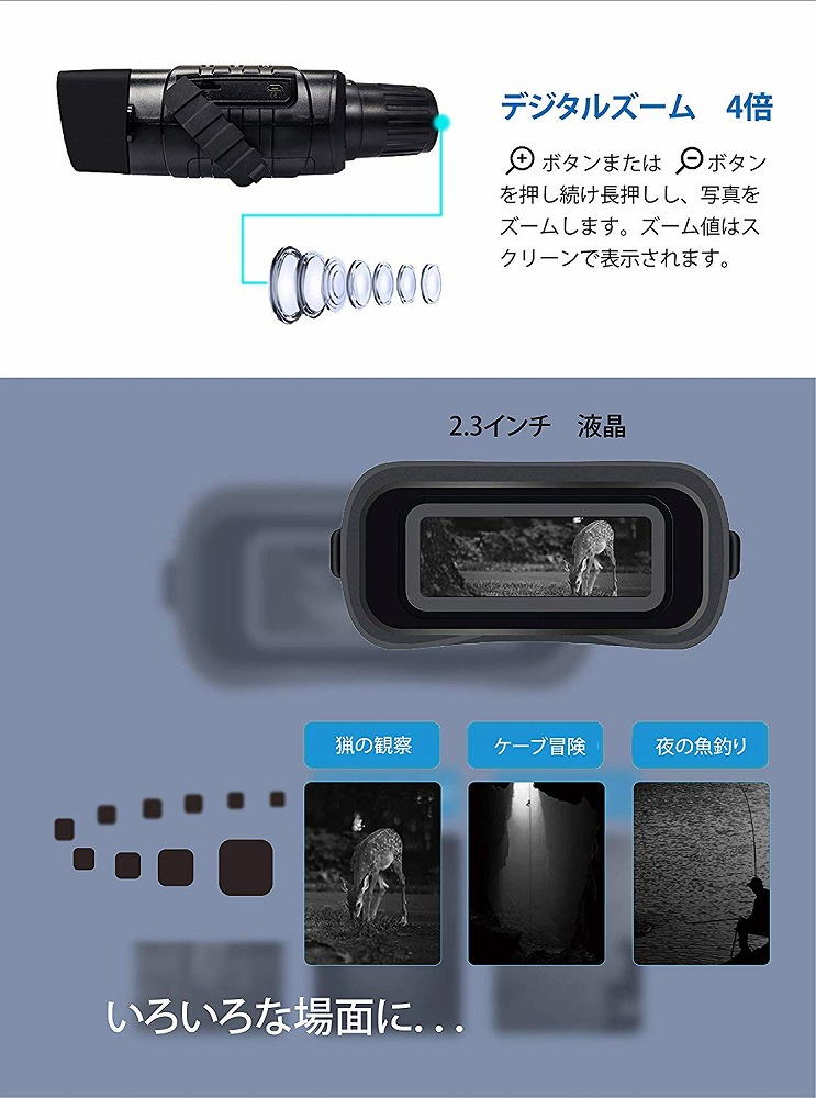 録画機能を搭載したナイトスコープ!! 【新品】サイエルインターナショナル/M-WORKS 録画機能付きナイトスコープ MW-RNS30
