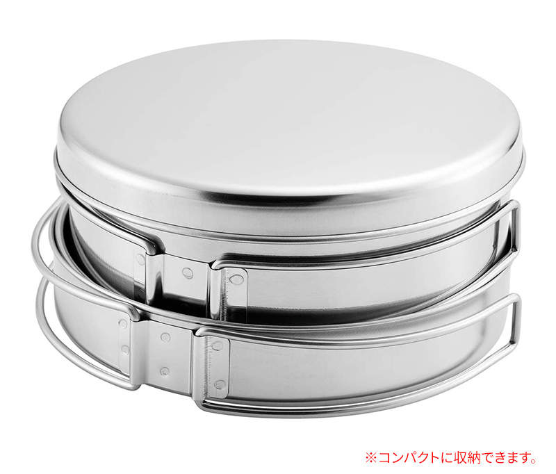 【新品】【送料無料!】Made in TSUBAME ツーリングクッカーセット 8点セット ステンレス製 TC-801