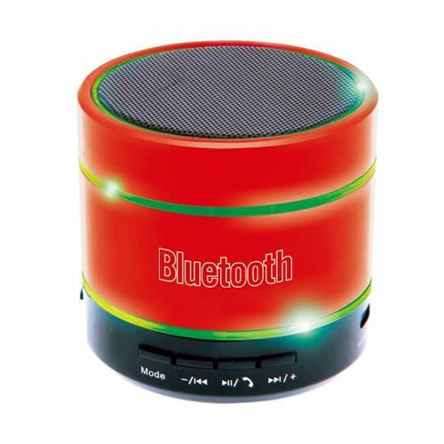 SALE! 【新品】ピーナッツクラブ Audin Sound ライティングスピーカー Bluetooth対応 USB充電式 カラー:レッド KK-00318