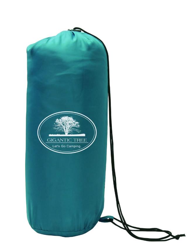 【新品】MACROS マクロス 軽量コンパクトシュラフ/寝袋 重量約575g 快適温度約15℃〜 ターコイズブルー MCO-58TB