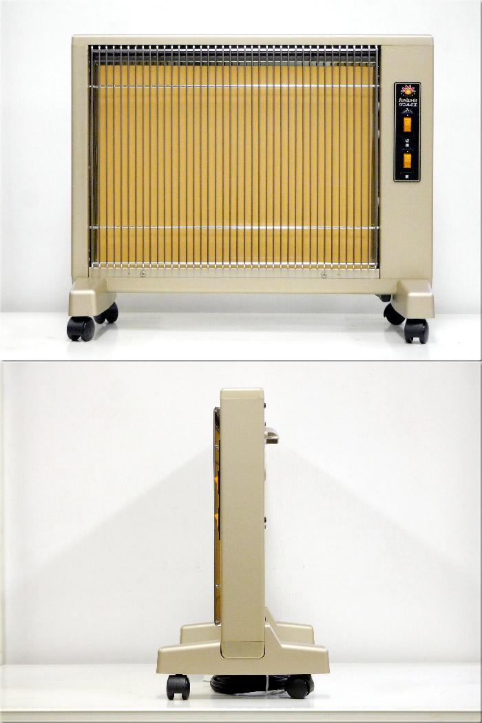 【中古】日本遠赤外線株式会社 サンルミエ キュート 遠赤外線パネルヒーター パールゴールド E800LS