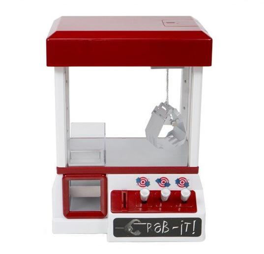 【新品】【送料無料!】SIS エスアイエス クレーンキャッチャー852 卓上クレーンゲーム機 SISSLW852