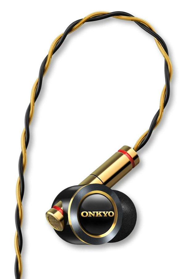 【新品】ONKYO オンキヨー ハイレゾ対応 密閉型 ハイブリッド方式 インナーイヤーヘッドホン ブラック E900MB