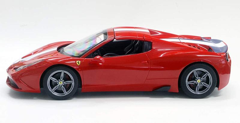 【新品】【送料無料!】RASTAR ラスター RC ラジコンカー Ferrari フェラーリ 458スペチアーレA コンバーチブル 1/14スケール 自動開閉電動ルーフ