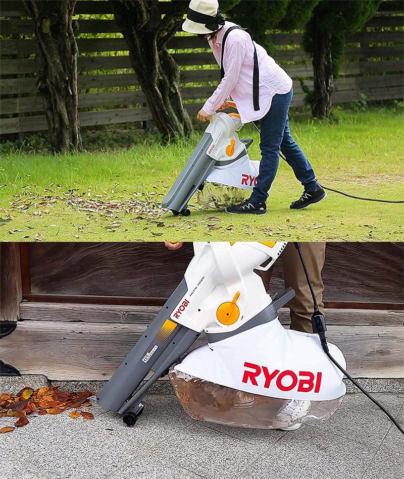 【新品】【送料無料!】RYOBI リョービ 家庭用 ブロワバキューム RESV-1020