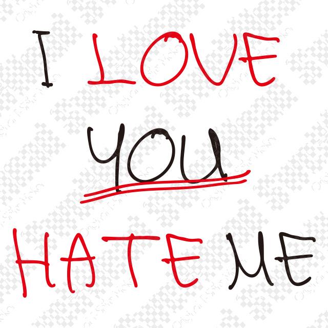 I LOVE YOU HATE ME