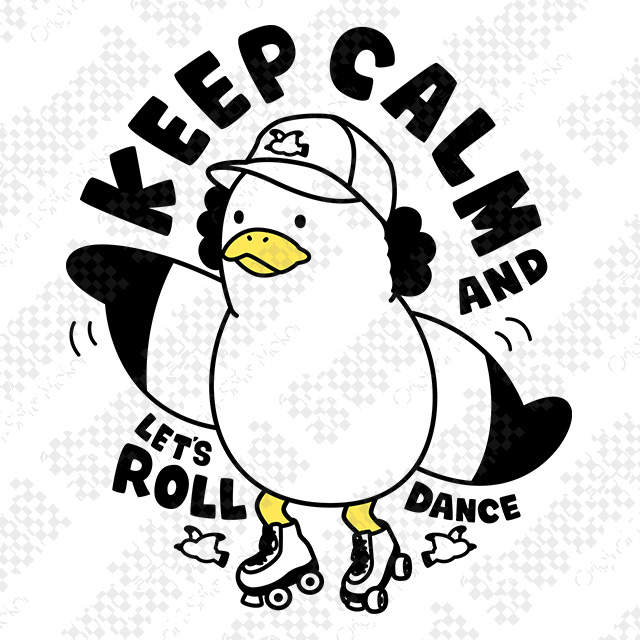 KEEP CALM AND LET'S ROLL
