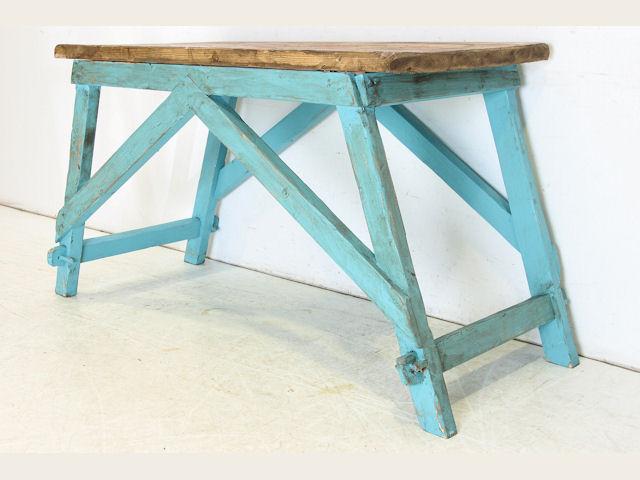 an-11 1970年代〜現代 イギリス製 リプロダクション パイン ワーキング テーブル 作業台