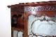 1880年代 イギリス製 アンティーク ビクトリアン マホガニー ディスプレイキャビネット