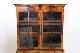 bk-26 1960年代 イギリス製 アンティーク クイーンアンスタイル ウォルナット 引き出し付き ブックケース 本棚 書棚