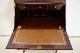 wd-1 1910年代 イギリス製 アンティーク クイーンアンスタイル マホガニー ビューローショーケース 飾り棚付き机 デスク