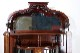 ce-91 1920年代 イギリス製 アンティーク アールヌーボー ウォルナット キャビネット