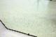 mr-6 1950年代 イギリス製 アンティーク アールデコ お花 カットガラス 壁掛け鏡 ウォールミラー