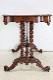 cd-3 1880年代イギリス製アンティーク ビクトリアン ウォルナット サイドテーブル センターテーブル