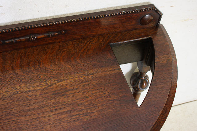 cl-2 1890年代 イギリス製 アンティーク ソリッドオーク 引き出し付き 傘立て コンソールテーブル