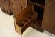 sb-12 1960年代 イギリス製 アンティーク ソリッドオーク アールデコ 彫刻 サイドボード