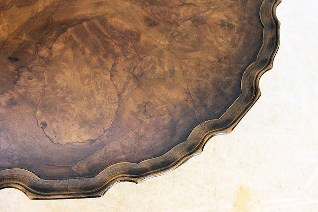 ct-11 1920年代 イギリス製 アンティーク ウォルナット ジョージ2世スタイル コーヒーテーブル