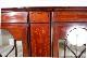 ce-29 1900年代 イギリス製 アンティーク エドワーディアン マホガニー 木嵌細工 ディスプレイキャビネット