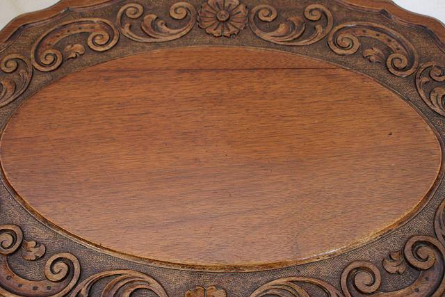 cd-5 1890年代イギリス製アンティーク ビクトリアン ウォルナット サイドテーブル オケージョナルテーブル