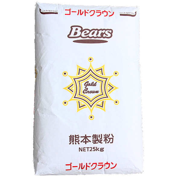 熊本製粉 パン用最強力粉 ゴールドクラウン 5kg