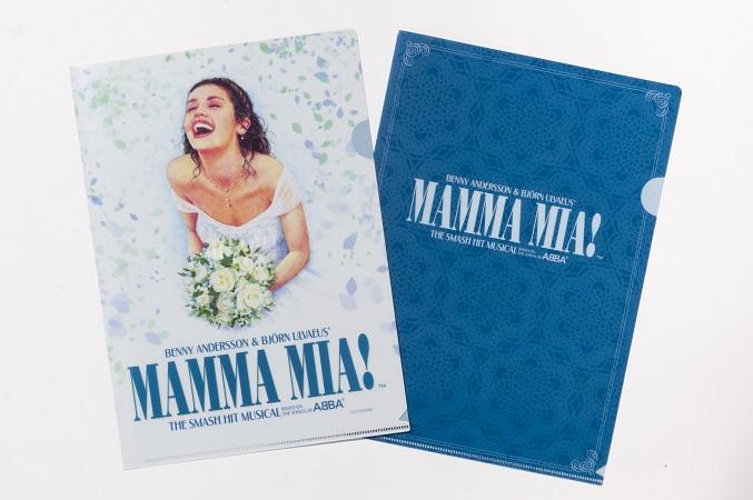★お求めやすい価格になりました★マンマ・ミーア! A4クリアファイルセット