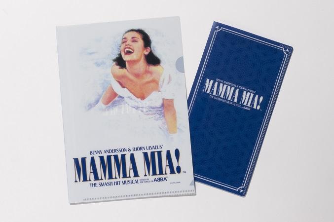 ★お求めやすい価格になりました★マンマ・ミーア! A5クリアファイル&チケットホルダー