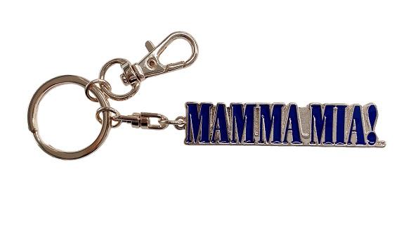 ★お求めやすい価格になりました★マンマ・ミーア! ロゴキーホルダー