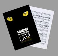 【楽譜】「CATS」 メモリー
