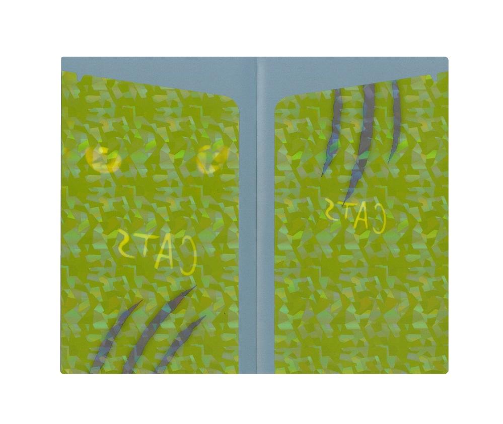 【NEW】キャッツ チケットファイル ホログラム