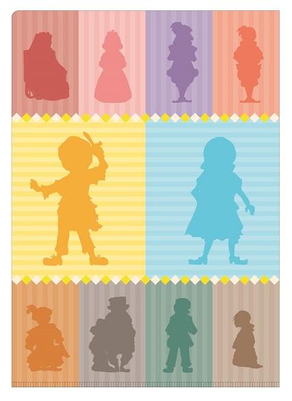 王子とこじき クリアファイルセット(2枚組)