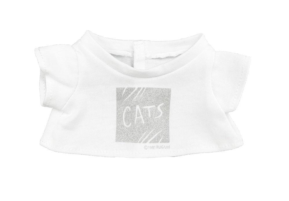 【福岡公演新商品】キャッツ ぬいぐるみ用 シルバーTシャツ