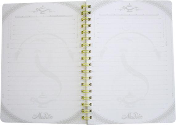 アラジン ダブルリングノート