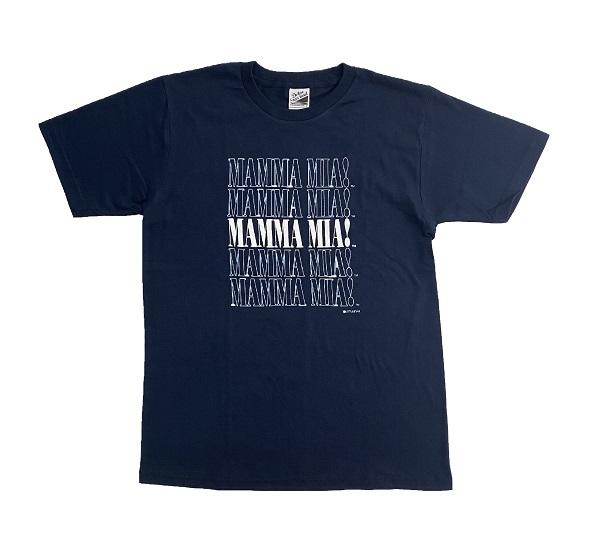 マンマ・ミーア! ロゴTシャツ(ユニセックス) S