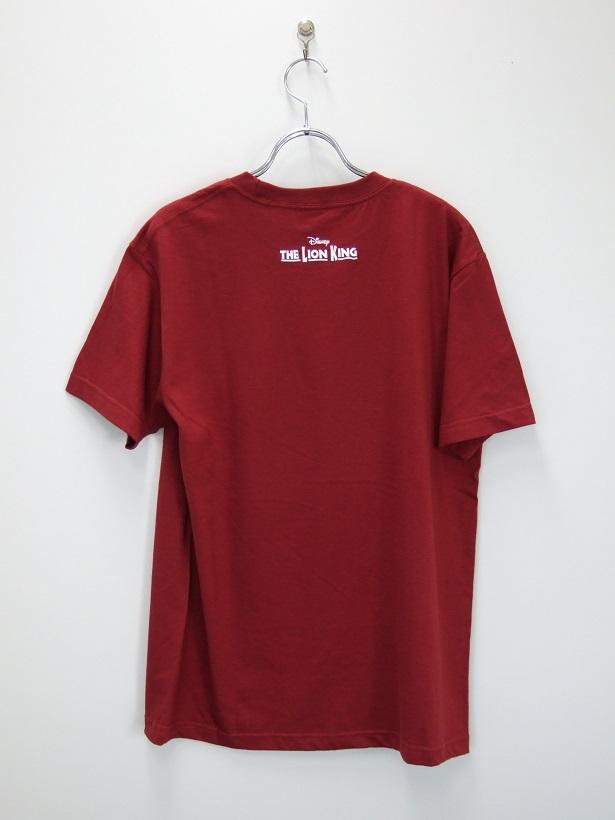 ライオンキング Tシャツ バーガンディ M