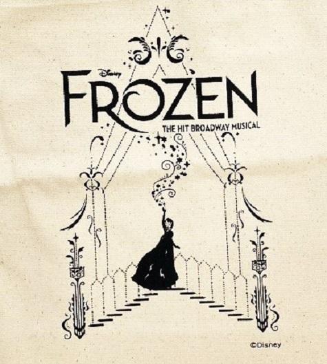 アナと雪の女王 トートバッグ エルサ