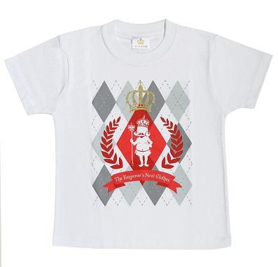 はだかの王様 KIDS Tシャツ 白