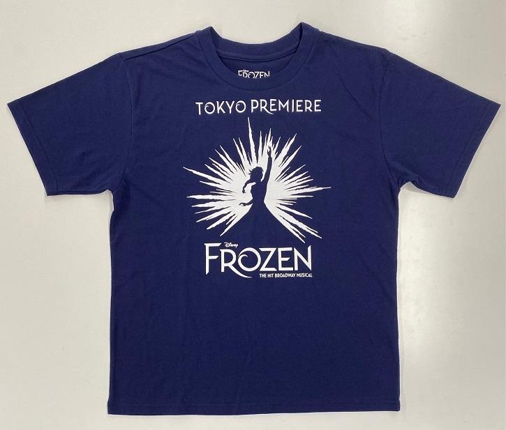 アナと雪の女王 東京限定Tシャツ S (リニューアル)