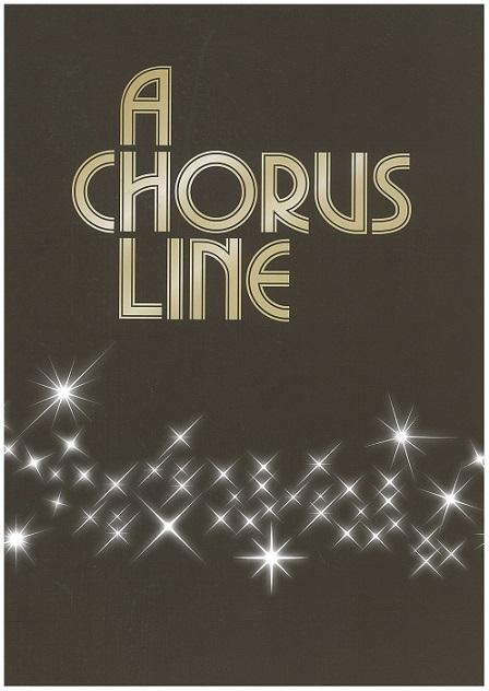 『コーラスライン』全国公演 プログラム 2020年11月発行