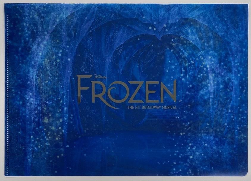 アナと雪の女王 クリアファイルセット ロゴ&お城