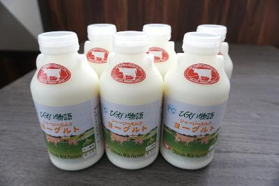 ジャージーミルクヨーグルトセット500ml×6本