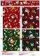 2020年 かわいいクリスマス 柄 綿100% Christmas Xmas プリント シーチング 日本製 AP05401