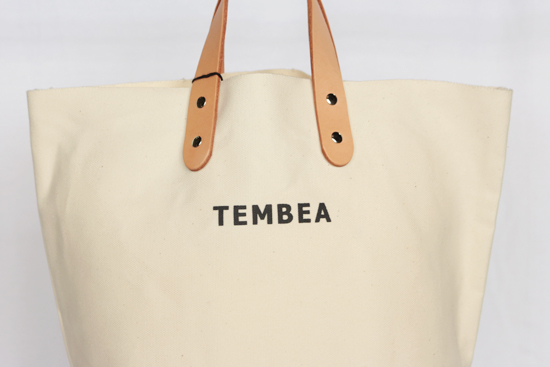 【TEMBEA】DELIVERY TOTE MEDIUM LOGO (TMB-1990N)