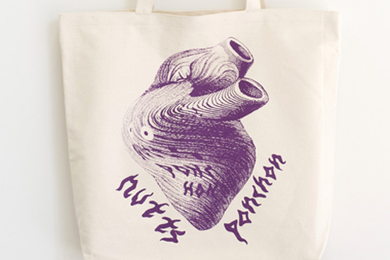 U2 eco bag / nuttsponchon